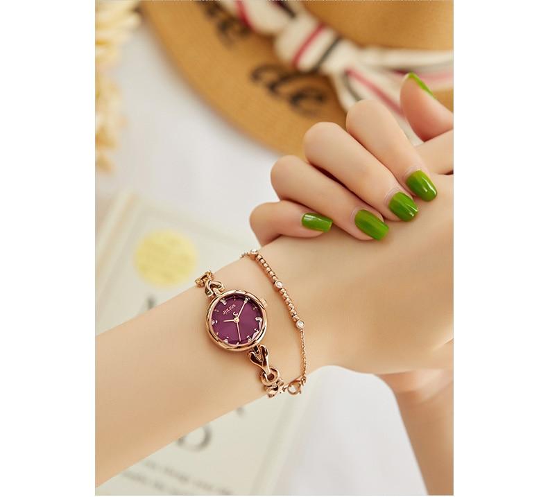senhoras pulseira relógio moda à prova dwaterproof