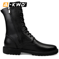 Fashion Winter Men Boots With Fur Sicherheitsschuhe Side Zipper Working Shoes 35 52 Winter Boots Men Single Black Military Boots