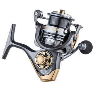 Image 2 - YUYU quality Metal Fishing reel spinning metal shallow spool 2000 3000 5000 6+1BB 7.1:1 spinning reel for carp fishing