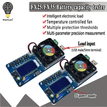 25W 35W 4A/5A Electronic Load Current Voltage Power Tester USB Protection LCD HD
