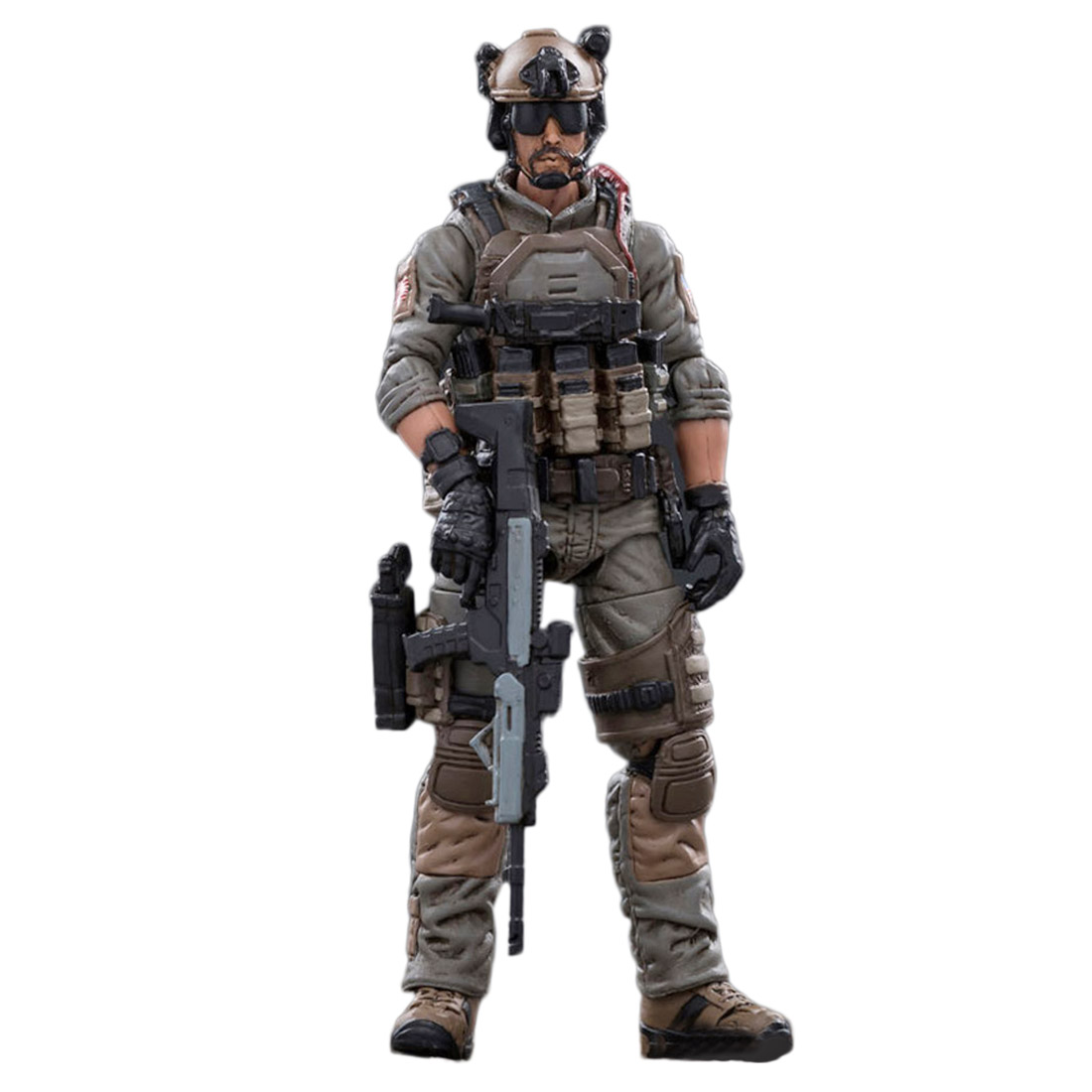 1:18 10.5cm Removable Action Figure Soldier Model Collection With High Degree Of Reduction - Navy Seals Special Troops Soldier F