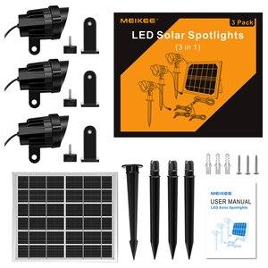 Image 5 - 3 في 1 في الهواء الطلق LED ضوء الشمس IP66 مقاوم للماء إضاءة ليد تعمل بالطاقة الشمسية مصباح مصباح إنارة غامرة خارجي لحديقة فناء المناظر الطبيعية الحديقة