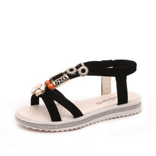 Sandals Explosion Womens Shoes Trinkets Fabric Casual Style Student Women