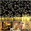 Waterproof Solar Garland String Light Outdoor Christmas Fairy Strip Home Street Lamp100 LED Solar Lights for Garden Decoration review