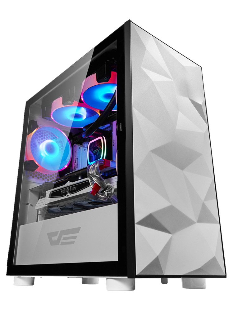Gaming Pc Case Computer-Case Chasis Gamer Htpc Desktop Tempered-Glass Completo Small