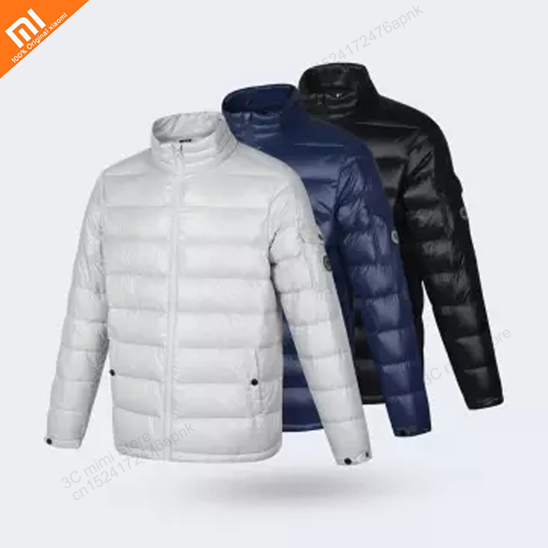 Xiaomi Youipin Uleemark glossy face can accommodate light goose down jacket 90% white goose down light slip