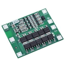 цена на 4S 40A Li-Ion Lithium Battery 18650 Charger Pcb Bms Protection Board for Drill Motor 14.8V 16.8V Lipo Cell Module