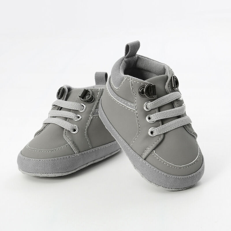 Newborn Baby Soft Sole Crib Shoes Infant Boy Girl Toddler Sneaker Anti-Slip