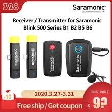 Saramonic Blink 500 Series B1 B2 B5 B6 Receiver / Transmitter Dual Channel Wireless Microphone System wireless go