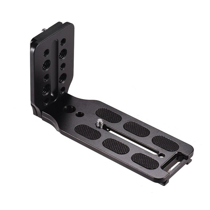 L Shape QR Vertical Shooting Bracket Quick Release Plate For Canon Nikon Sony DSLR Camera For Zhiyun Crane 2/3 Moza AIR Feiyu