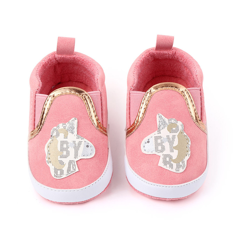 Baby Girl Canvas Shoes Soft Sole Infant Shoes For Newborn Girls Cotton Baby Indoor Shoes Baby Moccasins F154