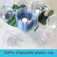 Cups-Dispenser Plastic 50pcs for 40ml Equipments Jewelry-Making-Tool Handmade DIY Epoxy-Resin