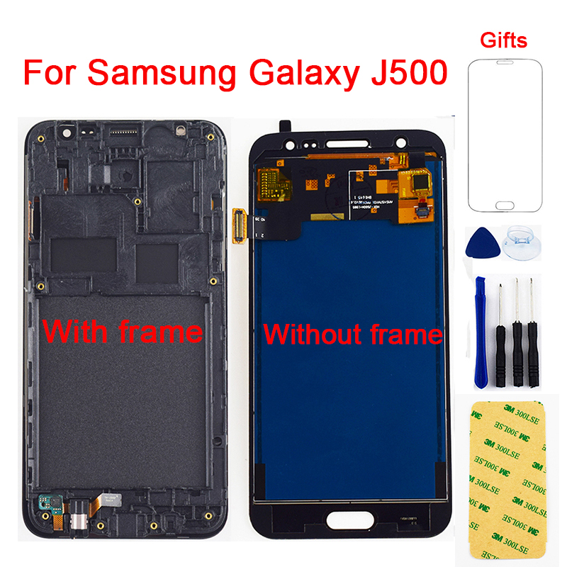 LCD For Samsung Galaxy J5 2015 LCD J500 J500F J500G J500M J500H J500FN LCD Display Touch Screen Digitizer Assembly Frame