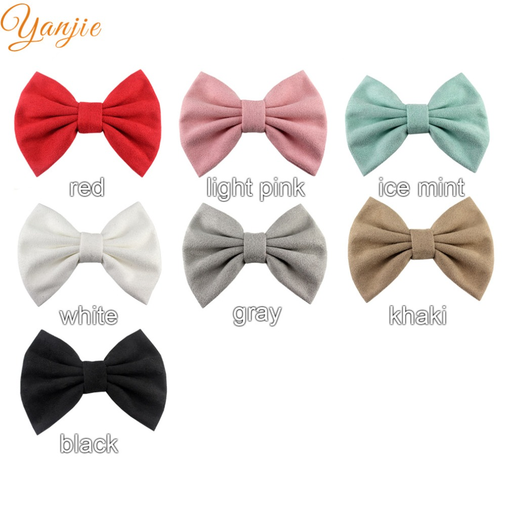 2 x Double Satin Bow Hair clips for Girls you choose both colours!