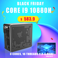 2020 neueste Mini Gaming Pc Intel Core i9 10980HK 10880H 8 Kerne 16 Themen Max Unterstützung 64GB RAM leistungsstarke Mini Pc HDMI 2,0 DP HDR