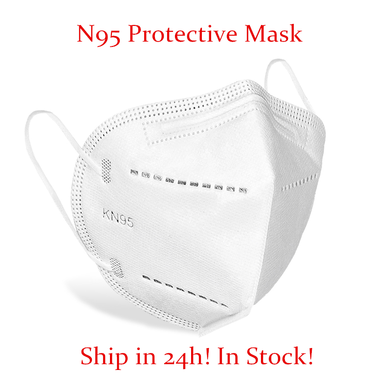10pcs N95 Safety Protective Mask 5 Layers Mask Bacteria Proof Anti Infection KN95 Masks Particulate Mouth Respirator Anti PM2.5