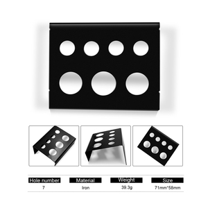 Image 4 - 6/7/8 Holes Pigment Container Stand Tattoo Accessories Supplies tattoo Permanent makeup Ink Cup Holder IBCH024