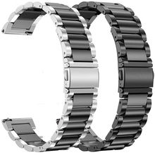 22MM Stainless Steel Straps For Xiaomi Huami Amazfit GTR 2/47MM/Stratos 3/ 2/2S Pace Watch strap for huawei watch gt 2 Bracelets