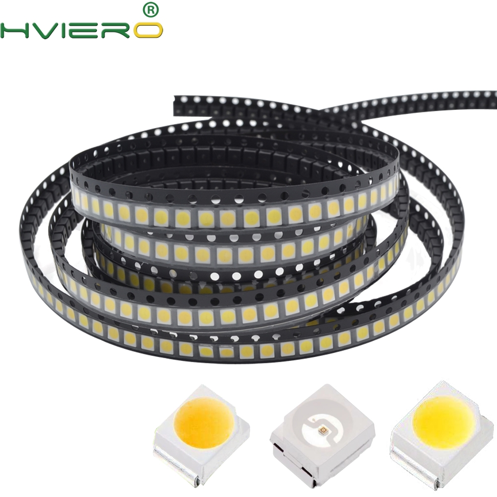 1000pcs White Red Green Blue Yellow Pink UV POWER TOP 1210 3528 SMD SMT Chip SMT PLCC-2 LED Diode Light Lamp Super Bright Light