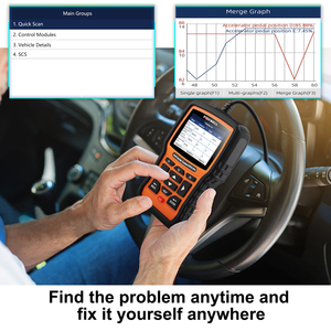 Image 4 - FOXWELL NT510 Elite Multi System OBD2 Scanner for BMW Nissan Renault ABS Bleeding IMMO DPF BMS Reset Works on 2018/2019 Vehicles