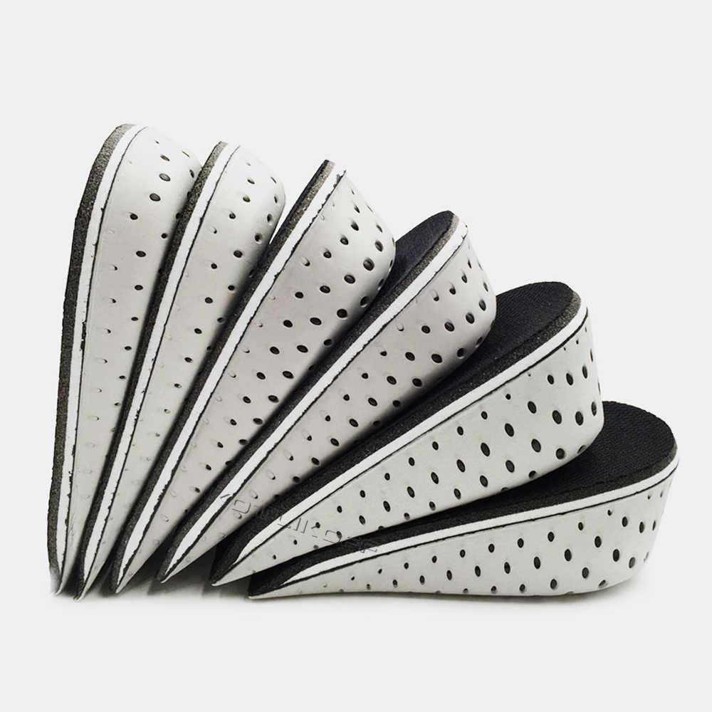 KOTLIKOFF wysokość zwiększenie wkładki oddychająca pół wkładka wysokość wkładka wkładka do butów sportowych poduszka Unisex 2.3 cm-4.3 cm w górę