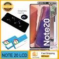 100% Оригинальный Super AMOLED ЖК-дисплей с сенсорным экраном дигитайзер для Samsung Galaxy Note 20 N980 N980F SN980F/DS запасные части