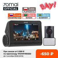 70mai A800S Dash Cam 4K Gebaut-in GPS ADAS Echt 70mai 4K A800 Kamera UHD Kino-qualität Bild 24H Parkplatz Vorne und Hinten Cam 140FOV