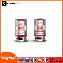 5-10 box Original Vaporesso Target PM80 GTX Coil 0.2ohm & 0.3ohm Vape Atomizer core for Target PM80 Pod Electronic Cigarette Kit