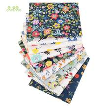 9 Newest Flower Series,Printed Twill Cotton Fabric, For DIY Sewing Quilting Baby & Children's Bed Clothes Shirts Skirts Material