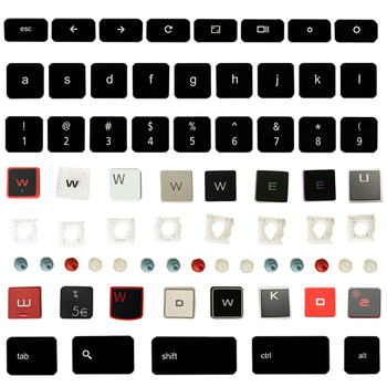 Keycap Key Cap And Hinge For ASUS ACER HP DELL IBM lenovo Xiaomi HUAWEI Samsung MSI LG Haier Apple HASEE SONY Keyboard Original image