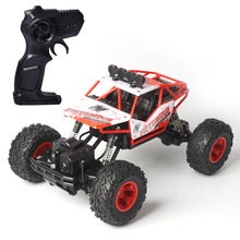2.4G large remote control car drift off-road vehicle four-wheel drive climbing big car high speed racing boy charging toy car electric vehicle range extender 60v car 48v72v frequency conversion tricycle four wheel car battery charging generator