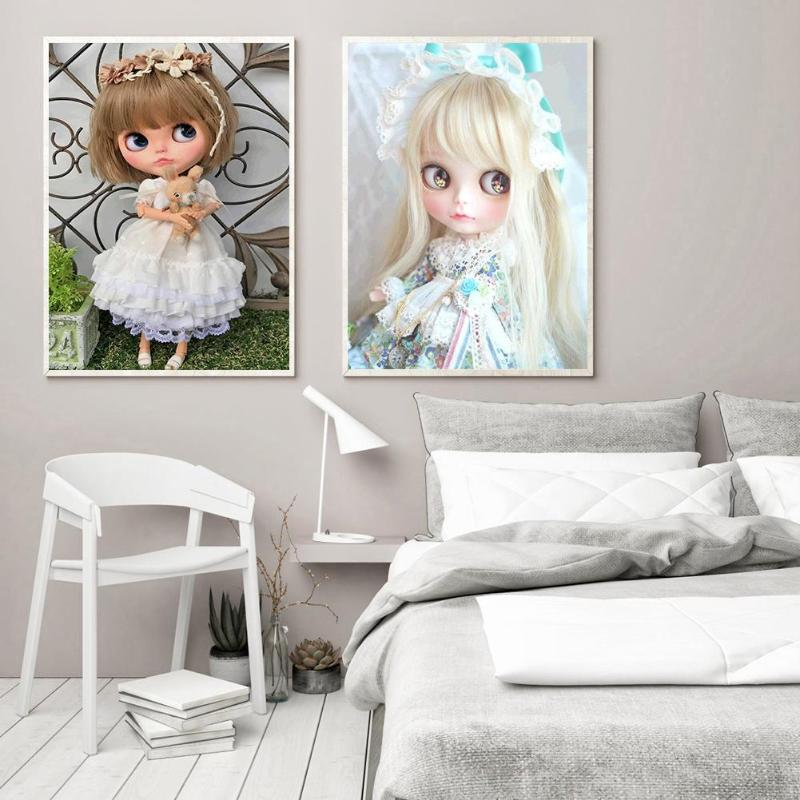 5D DIY Full Drill Diamond Painting Doll Embroidery Mosaic Craft Kits Decor