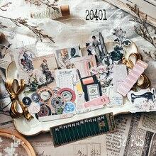 32 шт. розовые винтажные Швейные художественные наклейки для скрапбукинга, декоративные наклейки для журнала, планировщика, «сделай сам», ре...