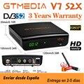 GTMedia V7S S2X HD спутниковый ресивер 1080P DVB-S2 модернизировано от Gtmedia V7S HD включают в себя Бесплатная USB Wi-Fi, H.265 декодер нет приложения
