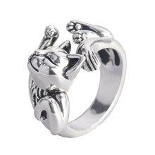 Кольцо с открытыми пальцами для мужчин и женщин стильное ювелирное