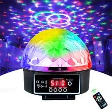 DJ DMX Soundlights 21 โหมดรีโมทคอนโทรลLED Disco Ballดิสโก้โคมไฟสีเพลงสำหรับดิสโก้เสียงไฟปาร์ตี้