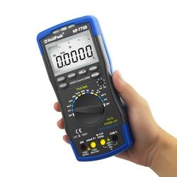 HoldPeak HP-770D True RMS цифровой мультиметр Авто Диапазон Multimetro 40000 отсчетов измерения Ом Вольт Ампер конденсатор тестер