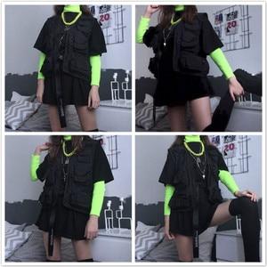 Image 5 - 초경량 낚시 조끼 빠른 건조 메쉬 전술 조끼 따뜻한 군사 캠핑 조끼 야외 남자 양복 조끼 멀티 포켓