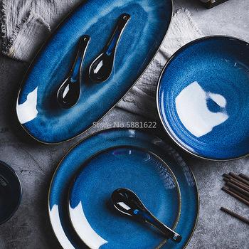 Nordic ceramiczny zachodni talerz głęboki okrągły talerz zupy talerz kreatywny pieczenia ryż talerz talerz sałatkowy duży dom tanie i dobre opinie CN (pochodzenie) Stałe ROUND