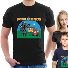 PopularMMOS T-SHIRT Pat Jen youtubers Adults Childrens Kids sizes tee B40 Cartoon t shirt men Unisex New Fashion tshirt Loose(China)