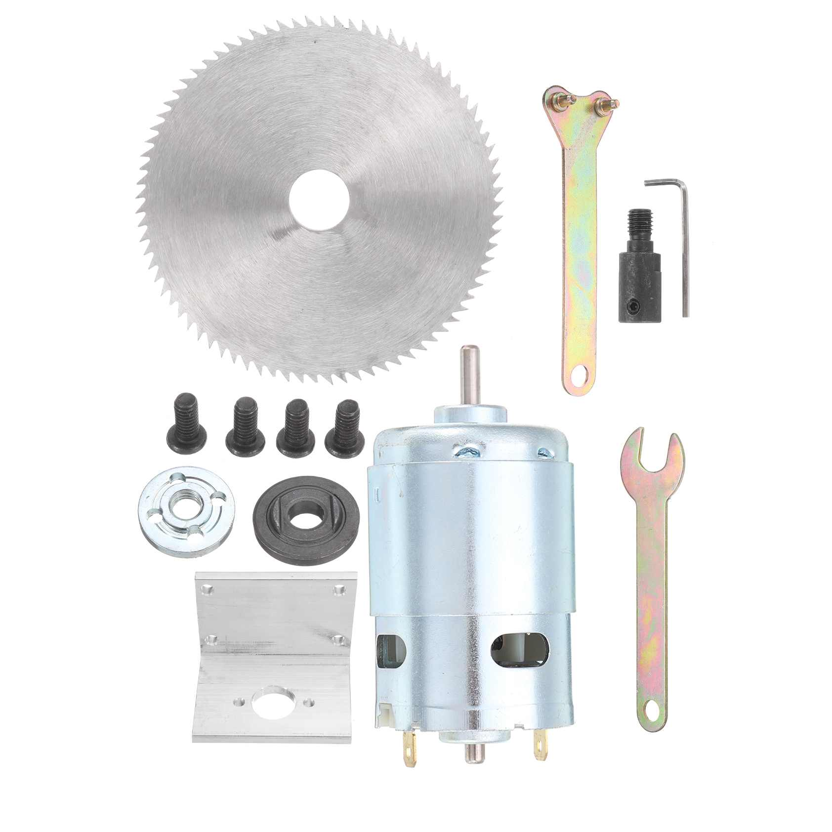 Kit Blade Ball For Press Woodworking And Saw Bearing With Mounting DC Lathe 24V Saw Bracket Table 12 895 Cutting Motor