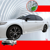 Lsrtw2017 Stainless Steel Car Door Edge Body Strip Trims for Toyota Camry XV70 2018 2019 2020 Accessories Chrome