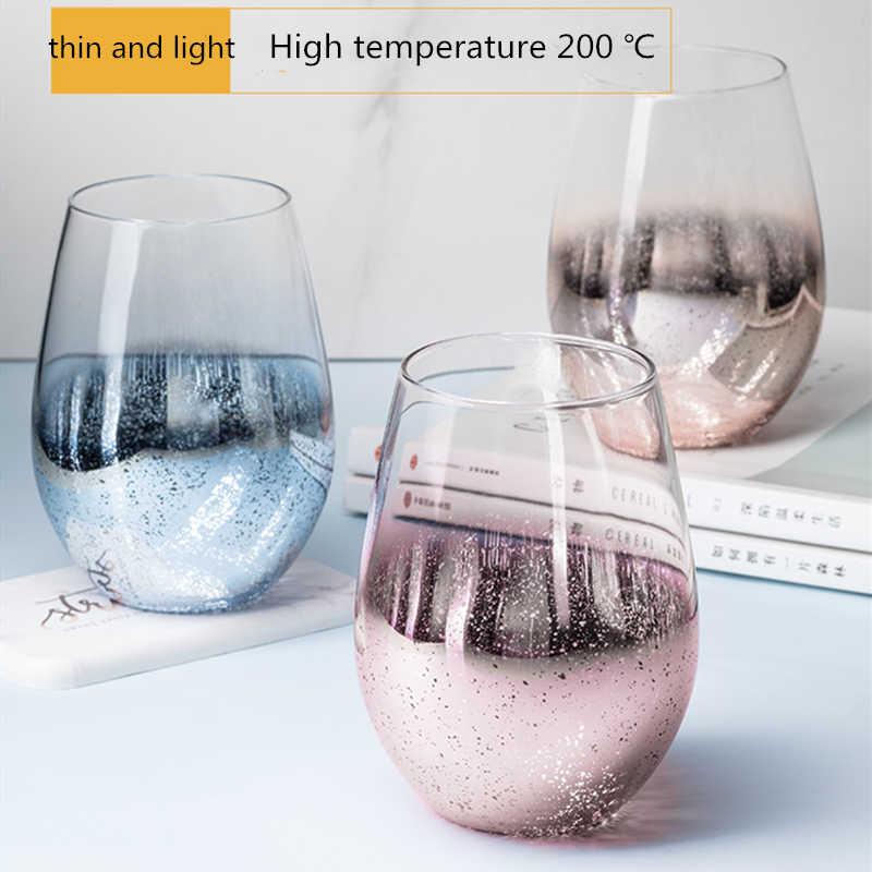 Cielo stellato a poco a poco cambia colore tazza di vetro tazza di acqua per uso domestico femminile tazza personalità tazza di caffè inviare i parenti regali
