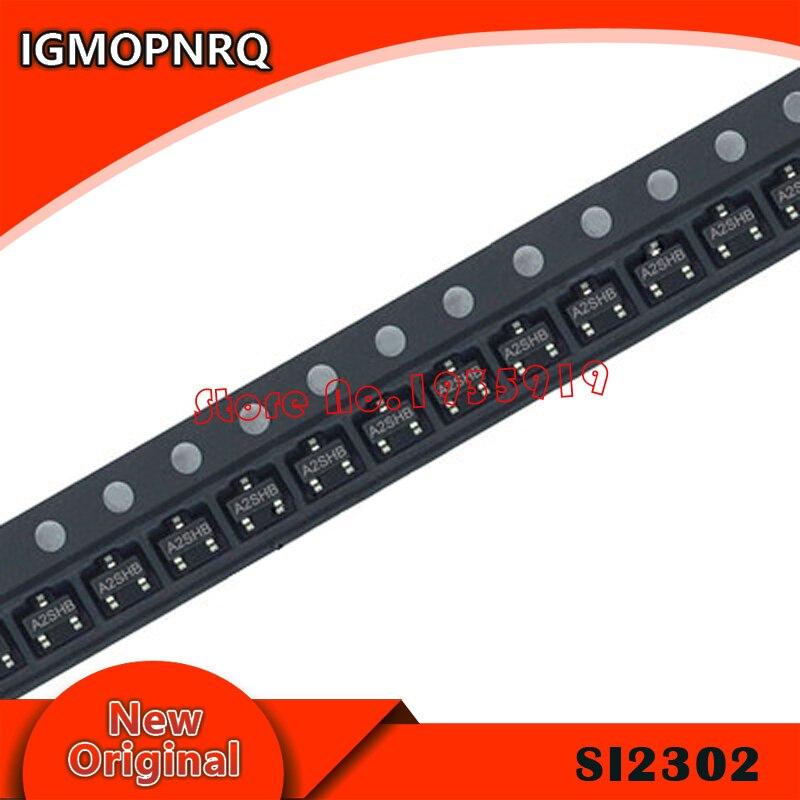 20pcs/lot SI2302DS SI2302 A2SHB SOT23 2.5A/20V New And Original