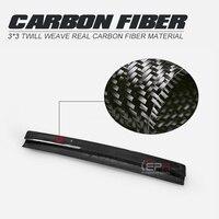 Car styling FRD Type Carbon Fiber Rear Spoiler Gurney Flap Glossy Finish Wing Lip Splitter Extension For Nissan Skyline R33 GTR