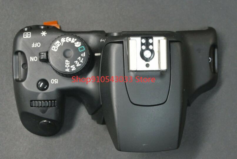 Für Canon 1000D Rebel XS Kuss F Top abdeckung gruppe Mit Modus zifferblatt netzschalter taste auslöser kabel Verwendet reparatur Teile