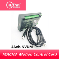 4 Axis NVUM CNC Controller 200KHZ MACH3 USB Motion Control Card for CNC Engraving Stepper Motor Servo motor from hltnc
