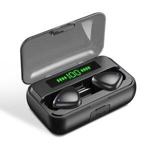 Image 5 - TWS Bluetooth 5.0 אוזניות 9D HIFI 2000mAh טעינת תיבת אלחוטי אוזניות LED תצוגת אוזניות אוזניות ספורט עמיד למים