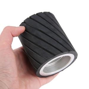Image 5 - 70x50mm 80x50mm 70x80mm 벨트 그라인더 고무 접촉 휠 연마 샌딩 벨트 세트 연마 그라인더 샌딩 접촉 휠 벨트