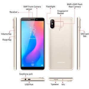 Image 5 - Original version HOMTOM C2 Android 8.1 2+16GB Mobile Phone Face ID MTK6739 Quad Core 13MP Dual Camera OTA 4G FDD LTE Smartphone